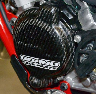 画像1: Boano カーボンイグニッションプロテクター Beta RR2T125