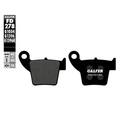 画像1: Galfer セミメタルパッド FD278G1054